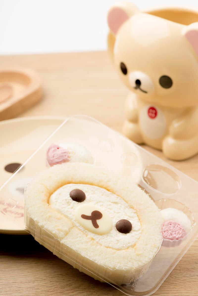 和菓子的甜蜜生活 - lawson日本罗森便利商店「diy小白熊瑞士蛋糕卷」