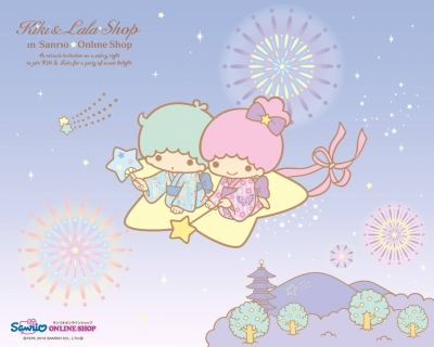 KiKi & LaLa Little Twin Stars雙星娃娃桌布