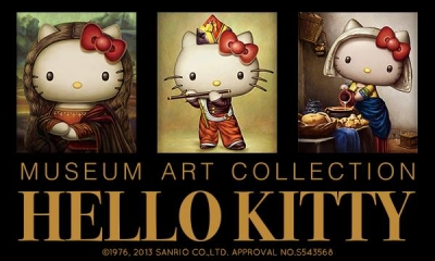 Hello Kitty名畫