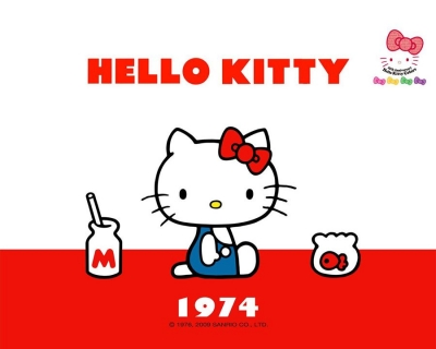 1974年的Hello Kitty凱蒂貓